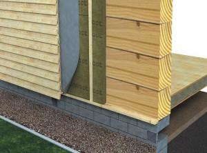 Утепление брусового дома снаружи: особенности выбора утеплителя и технологии его монтажа