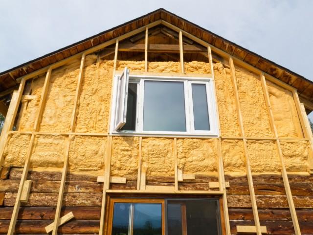 Утепление пенопластом фасадов дома видео