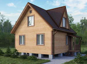 Теплый дом из бруса: особенности деревянной постройки